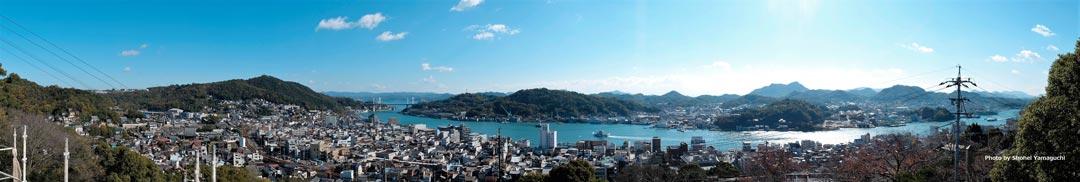 みはらし亭眺望全景 photo by Shohei Yamaguchi